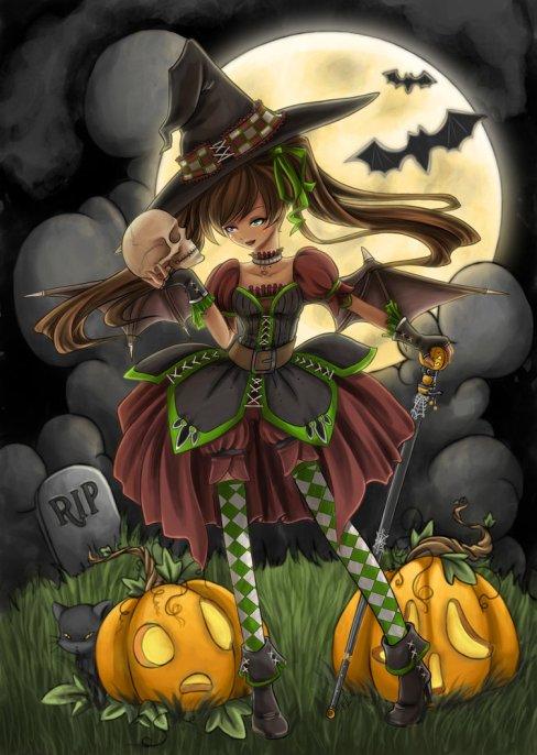 Halloween Queen by angelnablackrobe